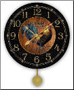 Le Rooster Kitchen Clock