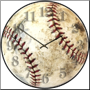Children Baseball Wall Clock (SKU: JTC-BBWC12)