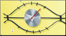 George Nelson Eye Wall Clock (SKU: KGN1427)
