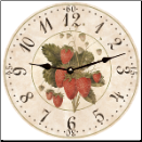Strawberries Clock (SKU: MDC-SBC)