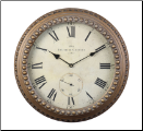 Derby Chalet Wall Clock OUT OF STOCK (SKU: PDLX-DWCCHAGL)