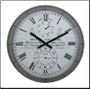 Derby Kullberg Wall Clock (SKU: DWCKULGR)