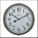 Derby Maritime Wall Clock Gray (SKU: PDLX-DWCMTMGR)