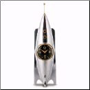 Rocket Desk Clock (SKU: PDLX-TCRKTAL)