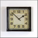 Station Clock Black (SKU: PDLX-W-GSS-BK)