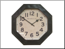 Octagon Clock by Pendulux (SKU: PDLX-W-OG)