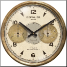 Chronograph Cream Clock  On Sale Now (SKU: TTC-CHC23)