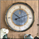 "Caffe Venezia Azure Clock 23"" Limited Supply"