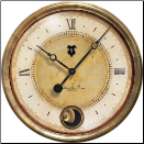 Caffe Venezia Cream Clock Trademark Time (SKU: TTC-CVC16IP)