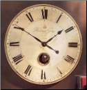"Harrison Gray Wall Clock 30"" Out Of Stock (SKU: UTW-06033)"