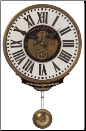 Bartolini Cream Wall Clock (SKU: UTW-06021)
