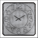 Dominic Square Wall Clock (SKU: UTM-06436)
