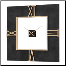 Mudita Square Clock Uttermost Available 3/15/18 (SKU: UTM-06448)