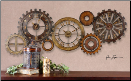 "Spare Parts Wall Clock 54"" (SKU: UTM-06788)"