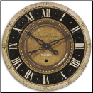 "Auguste Verdier 27"" Clock Timeworks On Sale Now (SKU: UTW-06028)"