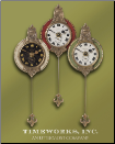 Monarch Pendulum Wall Clocks 4""