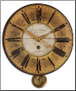 "Louis Leniel Clock 20"" Timeworks OUT OF STOCK (SKU: UTW-06034)"