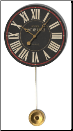 "Place De Voges  Clock 6"" Available Now (SKU: TTC-PV6)"