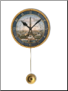 Paris Expo Pendulum Clock-Out Of Stock
