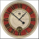 "Hotel de la Reine Clock 23"" Out of Stock (SKU: FC-WCL011)"
