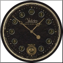 "Victoire Black 23"" Clock Out of Stock (SKU: FC-WCL013)"