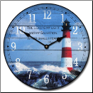 The Lighthouse I Wall Clock (SKU: JTC-LH1)