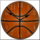Boys Basket Ball  Clock (SKU: JTC-Basketball)