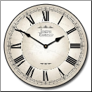Dublinn White Wall Clock (SKU: JTC-WHITE)