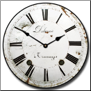 Vintage French Clock (SKU: JTC-DELFRANCE)