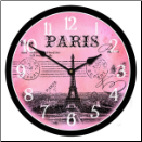 French Postcard Clock (SKU: JTC-FRPC)