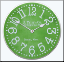 Lime Green Modern Clock (SKU: JTC-LGM)