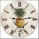 Pineapple Wall Clock (SKU: MDC-FPWC)