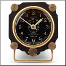 Altimeter Table Clock (SKU: PDLX-TCALTBK)