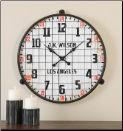 MAX Wall Clock Uttermost (SKU: UTM-06424)