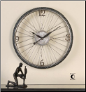 Spokes Clock by Uttermost (SKU: UTM-06426)