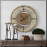 Ezekiel Wall Clock by Uttermost NEW (SKU: UTM-06453)
