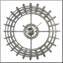 Alphonse Wall Clock Uttermost on SALE (SKU: UTM-06440)