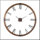 Amarion Wall Clock Uttermost On SALE NOW (SKU: UTM-06655)