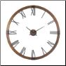 Amarion Wall Clock Uttermost OUT OF STOCK (SKU: UTM-06655)