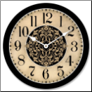 "Medium Wall Clock 14""-22"""