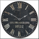 Joseph Shearer 1822 Clock