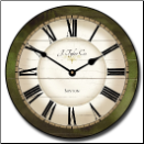 Caroline Green Traditional Clock (SKU: JTC-CarolGren)