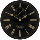Anndria Wall Clock Gold