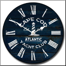 Yacht Club Wall Clock (SKU: JTC-CAPCOD)