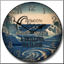Nautical-Beach Clock (SKU: JTC-NAU2)
