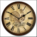 Rooster Shine Clock (SKU: JTC-RSTRSHINE)