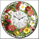 Romantic Roses Clock