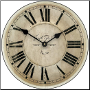 Pierce Wall Clock-6 Sizes On Sale (SKU: JTC-PRCCLK)