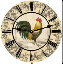 Rooster Kitchen Wall Clock (SKU: MDC-RKTWC)