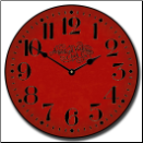 Americana Wall Clock 5 colors (SKU: JTC-WALAMRRED)